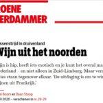 Artikel Groene Amsterdammer over Wijn